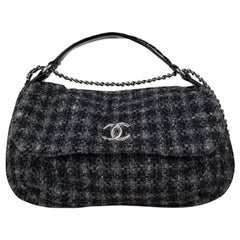 Chanel Tweed Hobo Bag
