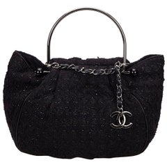 Chanel Tweed Limited Edition Collector's Novelty Tote