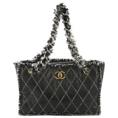 Chanel Tweedy Tote Quilted Leather Medium