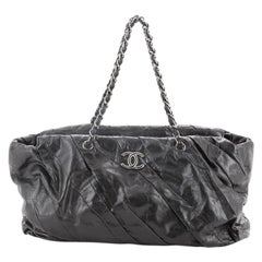 Chanel Twisted Tote Glazed Calfskin East West