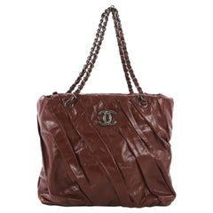 Chanel Twisted Tote Glazed Calfskin Medium