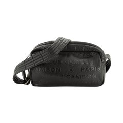 Chanel Unlimited Crossbody Bag Embossed Leather Small