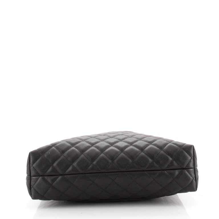 Chanel Urban Delight Chain Tote Quilted Caviar Large For Sale 1