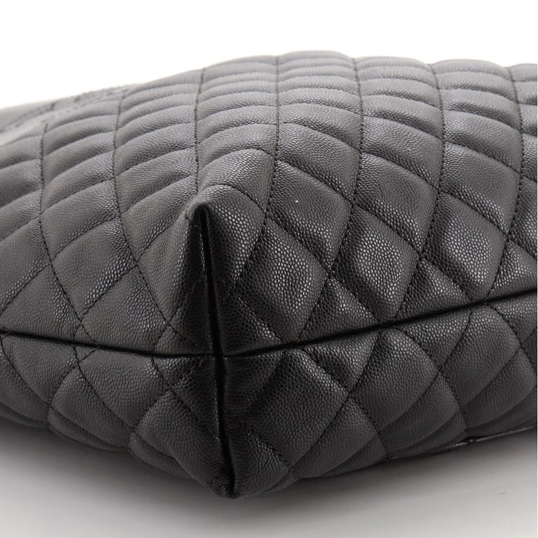 Chanel Urban Delight Chain Tote Quilted Caviar Large For Sale 3