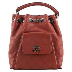 Chanel Urban Luxury Backpack Quilted Calfskin Medium