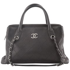 Chanel Urban Shopping Tote Quilted Caviar Small