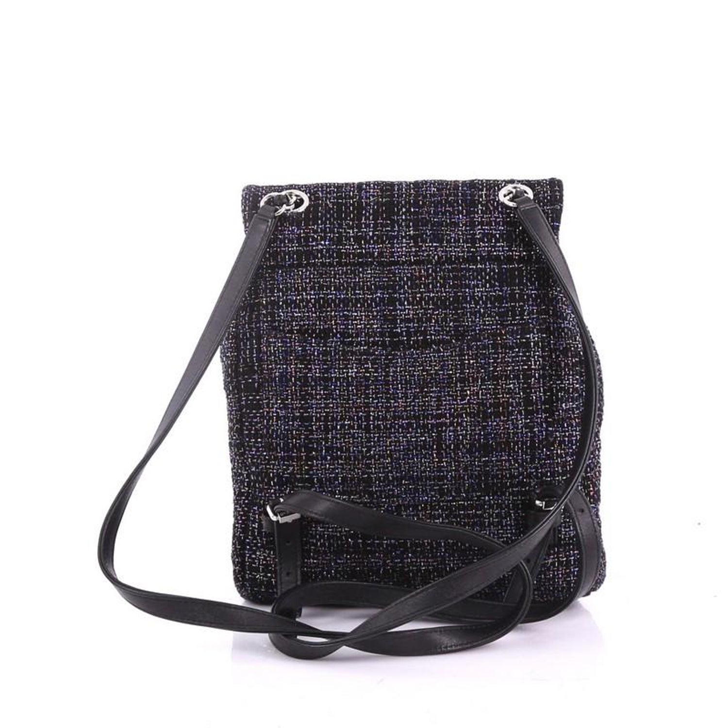 7ad9c0be469e2a Chanel Urban Spirit Backpack Quilted Tweed Small For Sale at 1stdibs