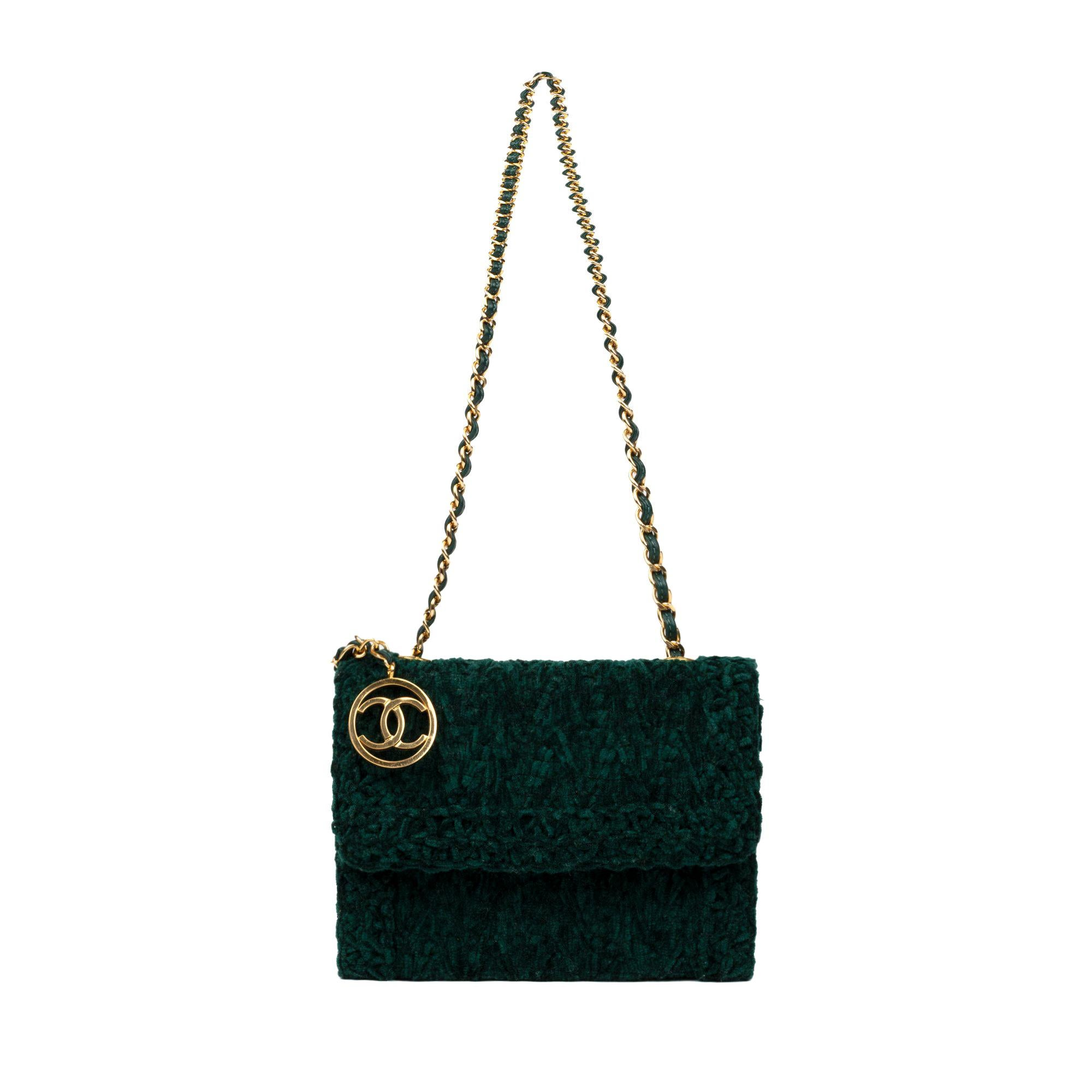 4376787a90 Velvet Chanel Bags - 49 For Sale on 1stdibs