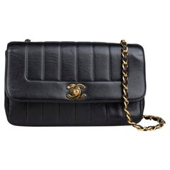 Chanel Vertical Flap Crossbody Bag