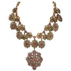 Chanel Vintage 1970's Gripoix Necklace