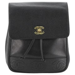 Chanel Vintage Backpack Caviar Small