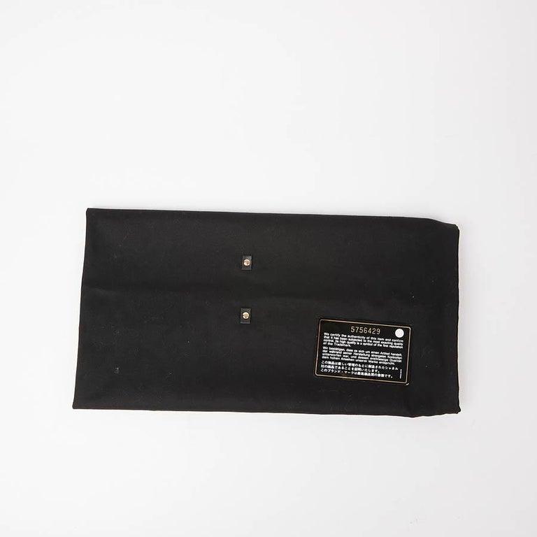 CHANEL Vintage Black Fabric Bag  11