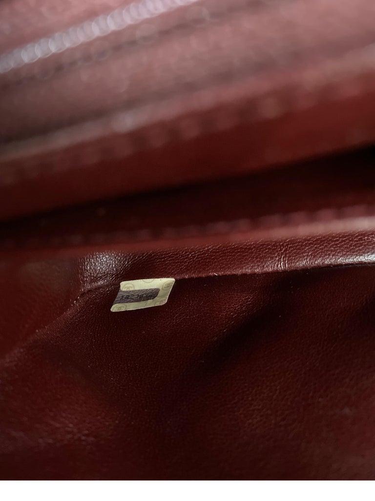 Chanel Vintage Black Leather Bag  8