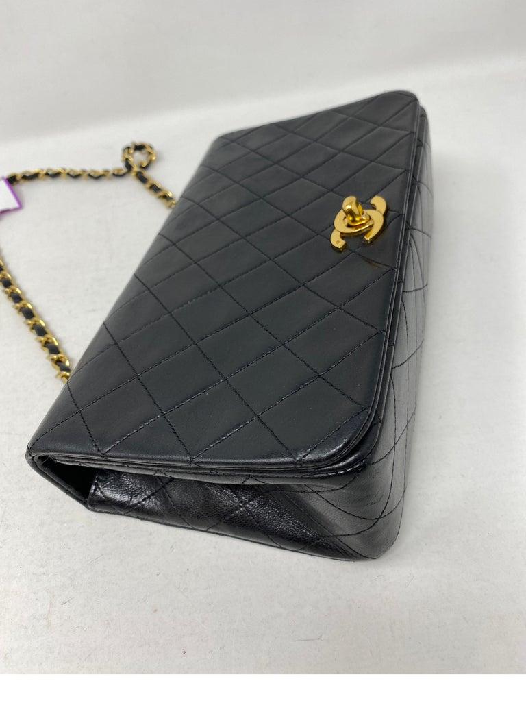 Women's or Men's Chanel Vintage Black Leather Bag