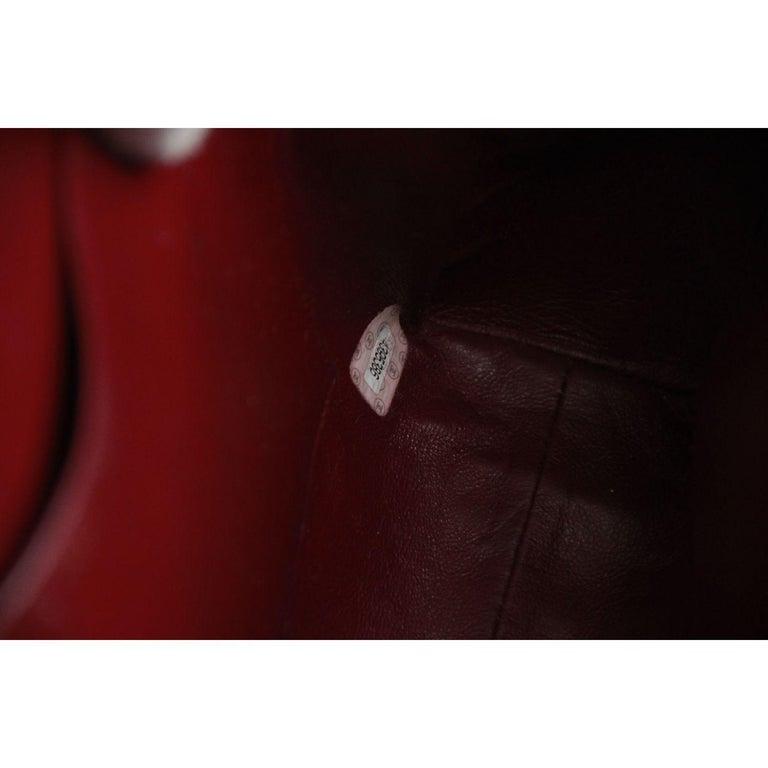 Chanel Vintage Black Quilted Handbag Satchel with Exterior Pockets 9