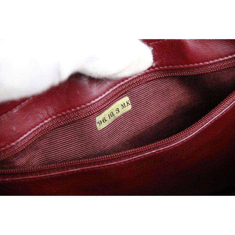 Women's Chanel Vintage Black Quilted Handbag Satchel with Exterior Pockets