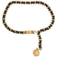 CHANEL Vintage Cambon CC belt