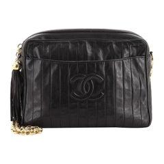 Chanel Vintage CC Camera Bag Vertical Quilted Lambskin Medium