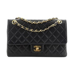 Chanel Vintage CC Chain Flap Bag Quilted Lambskin Medium