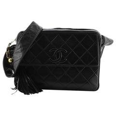Chanel Vintage CC Pocket Camera Shoulder Bag Quilted Lambskin Medium