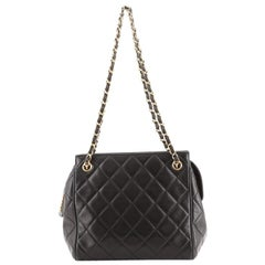 Chanel Vintage Chain Tote Quilted Lambskin Mini