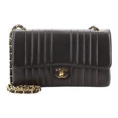 Chanel Vintage Classic Single Flap Bag Vertical Quilt Lambskin Jumbo