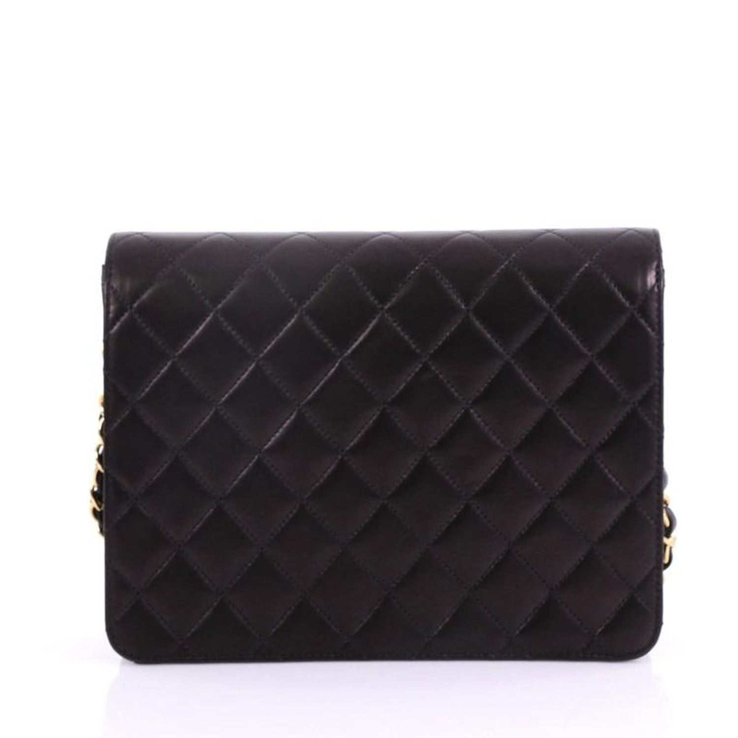 bbf1e00e590e Chanel Vintage Clutch with Chain Quilted Leather Small at 1stdibs