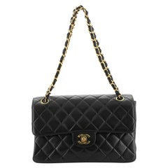 Chanel Vintage Double Sided Flap Bag Quilted Lambskin Small
