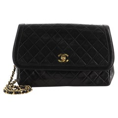 Chanel Vintage Flap Bag Quilted Lambskin Medium