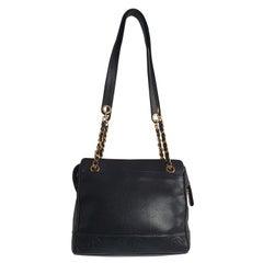 Chanel Vintage in black leather