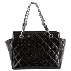 Chanel Vintage Petite Timeless Tote Quilted Patent