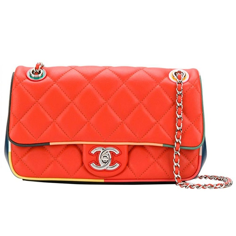 Chanel Vintage Quilted Flap Bag
