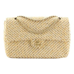 Chanel Vintage Reissue Chain Flap Bag Tweed Medium