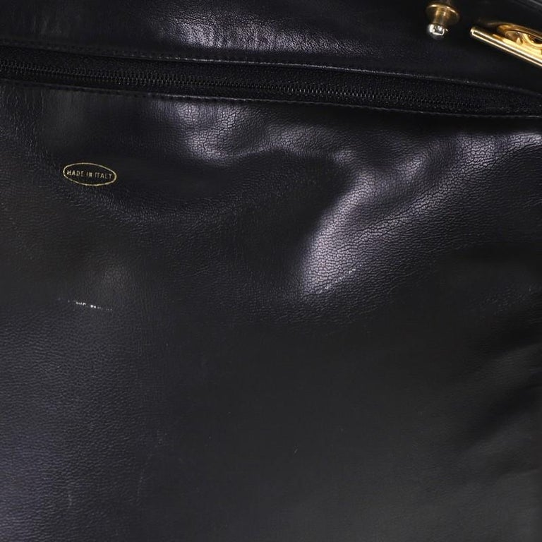 Chanel Vintage Shopping Tote Lambskin Large 4