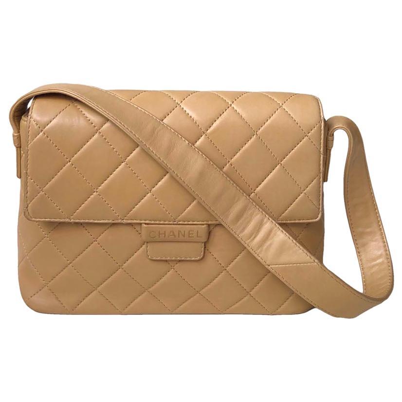 Chanel Vintage Shoulder bag BEIGE