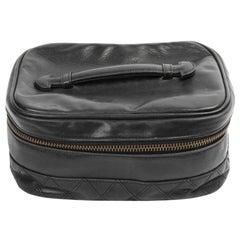 CHANEL Vintage Sponge Leather Bag