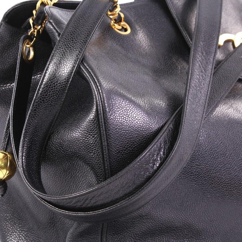 8f0f119de1446b Chanel Vintage Supermodel Weekender Bag Caviar Large at 1stdibs