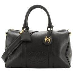 Chanel Vintage Timeless Boston Bag Caviar Medium