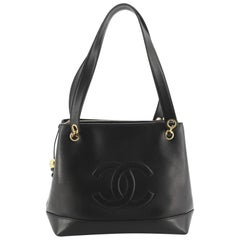 Chanel Vintage Timeless Chain Shoulder Bag Lambskin Medium