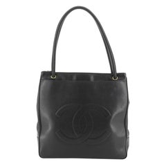 Chanel Vintage Timeless Front Pocket Tote Caviar Medium