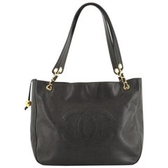 Chanel Vintage Timeless Open Chain Tote Caviar Large
