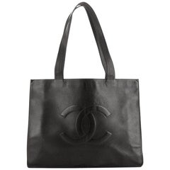 Chanel Vintage Timeless Shopping Tote Caviar
