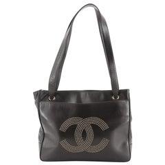 Chanel Vintage Timeless Tote Studded Lambskin Medium