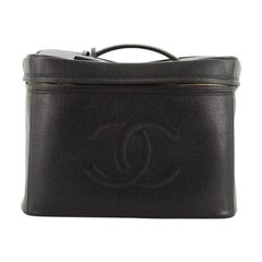 Chanel Vintage Timeless Vanity Case Caviar Large