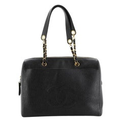Chanel Vintage Timeless Zip Tote Caviar Medium