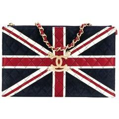 Chanel Vintage Union Jack Flat Bag
