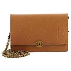 Chanel Vintage Wallet on Chain Caviar