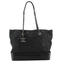 Chanel VIP Tote Quilted Iridescent Calfskin Large