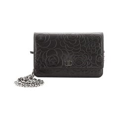 Chanel Wallet on Chain Camellia Lambskin