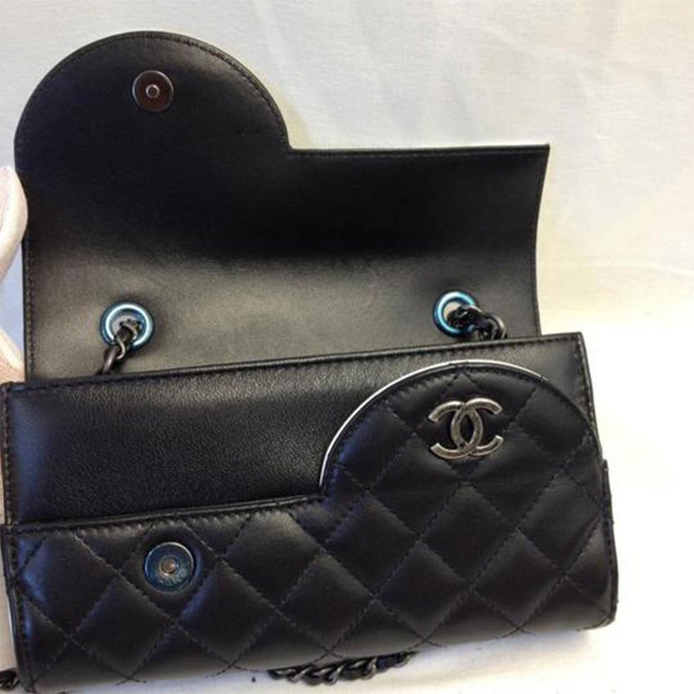 Chanel Wallet on Chain Classic Flap Rare Ying Yang Mini Woc Cross Body Bag For Sale 1
